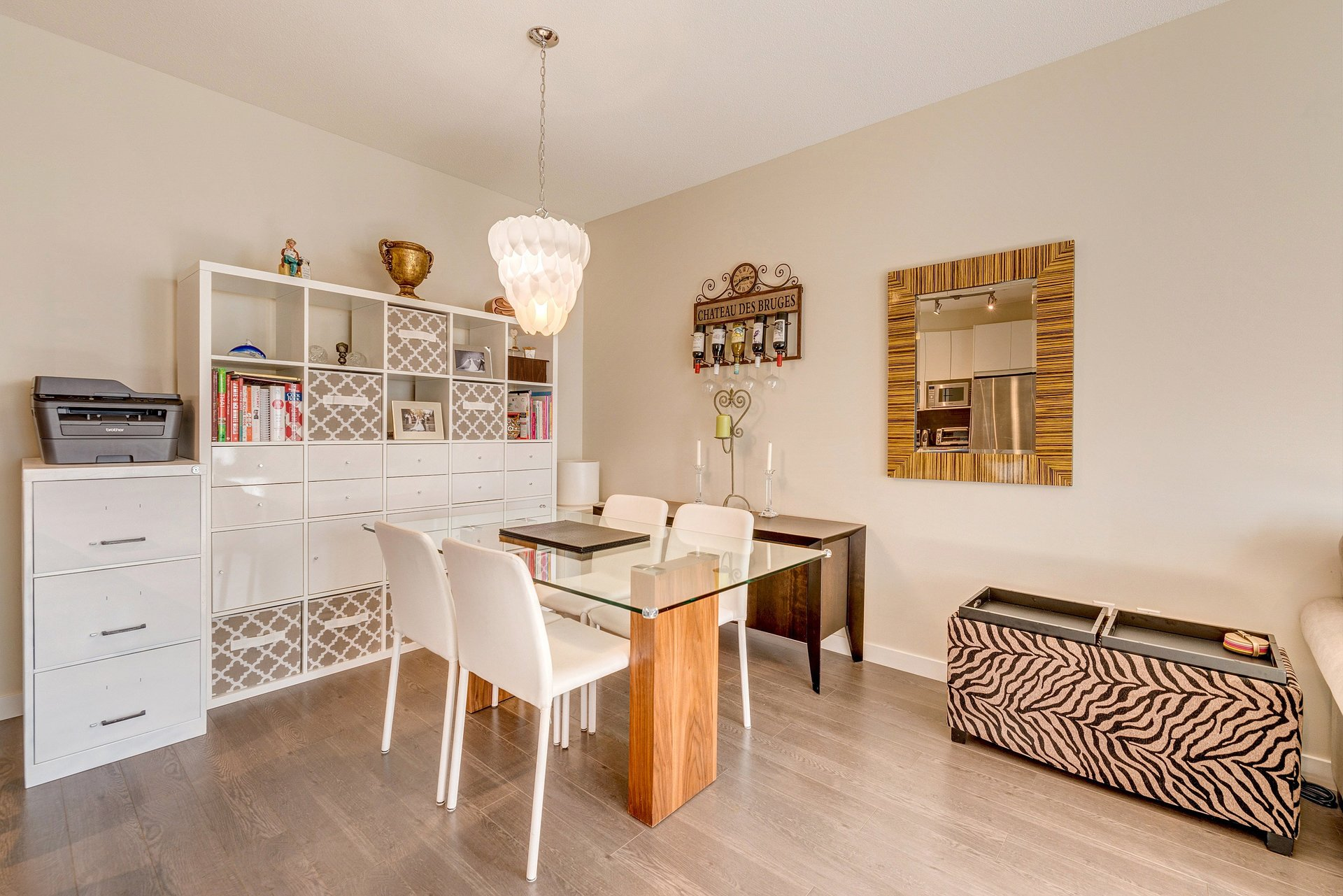 Kitchen & Dining Room at 337 - 9388 Mckim Way, West Cambie, Richmond