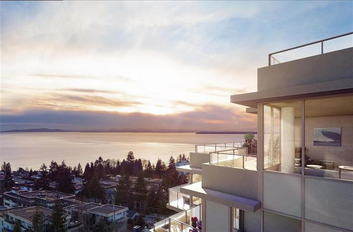 Ocean View at 1602 - 15165 Thrift Avenue, White Rock, South Surrey White Rock