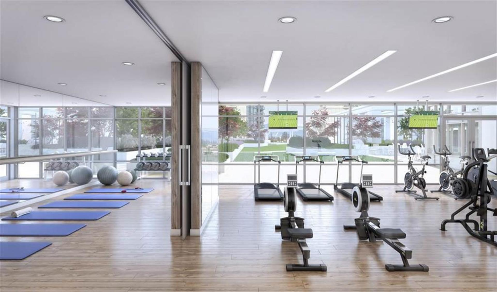 Gym at 1602 - 15165 Thrift Avenue, White Rock, South Surrey White Rock