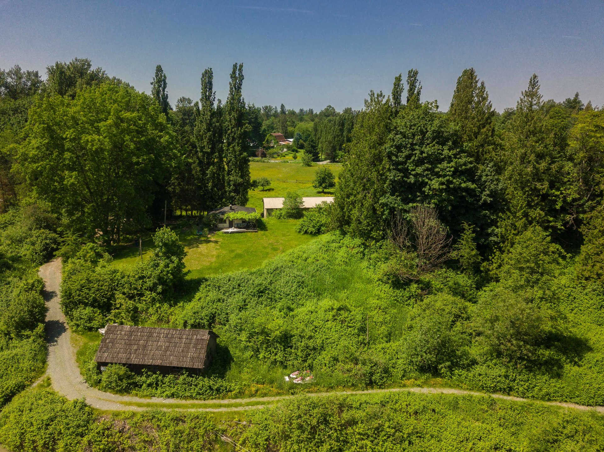 5 Acre Green Space  at 10114 Allard Crescent, Fort Langley, Langley