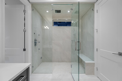 14-master-shower at 12652 24 Avenue, Crescent Bch Ocean Pk., South Surrey White Rock