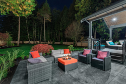 18-outdoor-entertainment-area-and-yard at 12652 24 Avenue, Crescent Bch Ocean Pk., South Surrey White Rock
