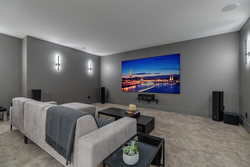 17-soundproofed-theatre-room at 14388 27 Avenue, Elgin Chantrell, South Surrey White Rock