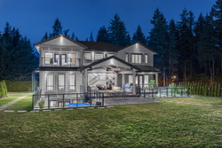 20-exterior-back-property-on-half-acre-grounds at 14388 27 Avenue, Elgin Chantrell, South Surrey White Rock