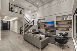 7-main-great-room-with-stairs at 14388 27 Avenue, Elgin Chantrell, South Surrey White Rock