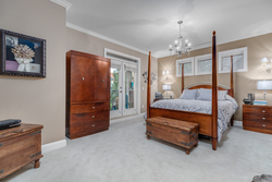 8-master-bed-with-deck at 2550 163a Street, Grandview Surrey, South Surrey White Rock