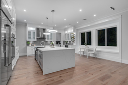 08-chefs-kitchen-with-fridge at 10916 162 Street, Fraser Heights, North Surrey