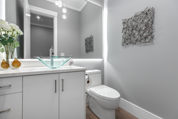 11-powder-room-on-main at 10916 162 Street, Fraser Heights, North Surrey