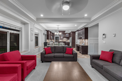 6-great-room-to-kitchen at 15033 70 Avenue, East Newton, Surrey
