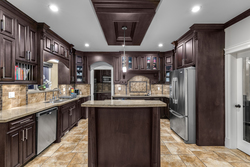 8-kitchen-with-custom-cabinetry at 15033 70 Avenue, East Newton, Surrey
