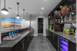 16-lower-level-wet-bar at 13175 19a Avenue, Crescent Bch Ocean Pk., South Surrey White Rock