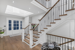 2-entry-foyer-with-grand-stairs-and-iron-railings at 13175 19a Avenue, Crescent Bch Ocean Pk., South Surrey White Rock