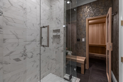 20-lower-level-steam-shower-with-sauna at 13175 19a Avenue, Crescent Bch Ocean Pk., South Surrey White Rock