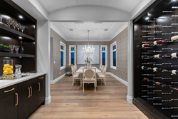 4-formal-dining-with-wine-display-and-butlers-station at 13175 19a Avenue, Crescent Bch Ocean Pk., South Surrey White Rock