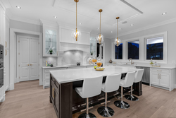 8-international-kitchen-with-island-and-designer-lighting at 13175 19a Avenue, Crescent Bch Ocean Pk., South Surrey White Rock