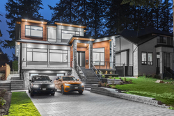 1-exterior-with-vehicles at 2235 153a Street, King George Corridor, South Surrey White Rock