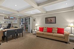 14-basement-living at 46 - 17097 64 Avenue, Cloverdale BC, Cloverdale