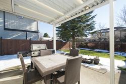 18-back-patio at 18502 64 Avenue, Cloverdale BC, Cloverdale
