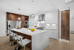 4-chefs-kitchen-with-wine-racks at 16053 8a Avenue, King George Corridor, South Surrey White Rock