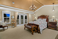 14-master-bedroom-on-the-upper-level-with-terrace at 5615 121a Street, Panorama Ridge, Surrey