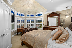 19-bedroom-on-the-upper-level-with-handpainted-details-full-ensuite at 5615 121a Street, Panorama Ridge, Surrey