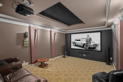 24-private-home-theatre at 5615 121a Street, Panorama Ridge, Surrey