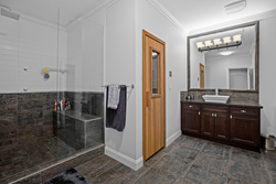 26-glass-shower-sauna-on-the-lower-level at 5615 121a Street, Panorama Ridge, Surrey
