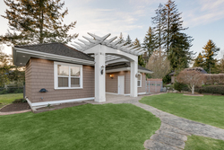 31-outbuilding-and-pathway-in-backyard at 5615 121a Street, Panorama Ridge, Surrey