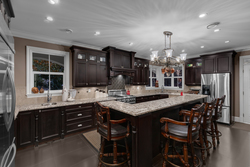 7-chefs-kitchen-with-rich-cabinetry at 5615 121a Street, Panorama Ridge, Surrey
