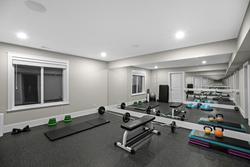 26-private-gymnasium at 3280 164 Street, Morgan Creek, South Surrey White Rock