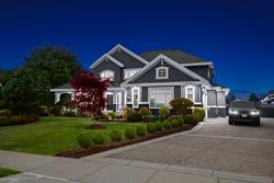 30-twilight-exterior at 3280 164 Street, Morgan Creek, South Surrey White Rock