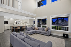 8-great-room-with-picturesque-windows at 3280 164 Street, Morgan Creek, South Surrey White Rock