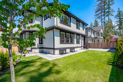 30-rear-yard at 13156 19a Avenue, Elgin Chantrell, South Surrey White Rock