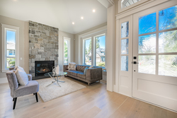 4-entry-door-and-formal-living-room at 13156 19a Avenue, Elgin Chantrell, South Surrey White Rock