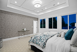 22-master-bedroom-with-ceiling-detail at 14486 17 Avenue, Sunnyside Park Surrey, South Surrey White Rock