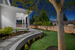33-beautiful-pathway-to-backyard-with-landscaping at 14486 17 Avenue, Sunnyside Park Surrey, South Surrey White Rock