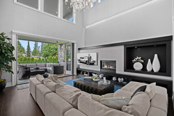 13-folding-doors-to-patio at 13698 Blackburn Avenue, White Rock, South Surrey White Rock