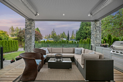 14-covered-patio-with-heaters at 13698 Blackburn Avenue, White Rock, South Surrey White Rock