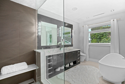 18-master-ensuite-shower at 13698 Blackburn Avenue, White Rock, South Surrey White Rock