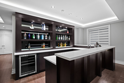 25-lower-level-bar at 13698 Blackburn Avenue, White Rock, South Surrey White Rock