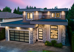 30-exterior-drone at 13698 Blackburn Avenue, White Rock, South Surrey White Rock