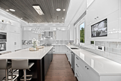 9-kitchen-with-security-monitor at 13698 Blackburn Avenue, White Rock, South Surrey White Rock