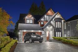 33-twilight-exterior at 16683 30a Avenue, Grandview Surrey, South Surrey White Rock