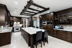 10-kitchen-angle-to-island at 13320 57 Avenue, Panorama Ridge, Surrey
