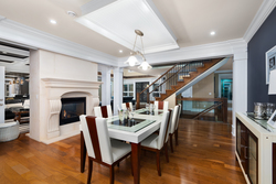 15-dining-to-staircase at 13320 57 Avenue, Panorama Ridge, Surrey