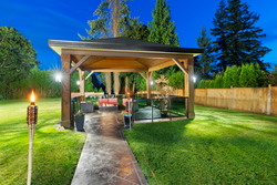 29-gazebo at 13320 57 Avenue, Panorama Ridge, Surrey