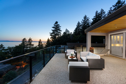 17-viewing-deck at 14723 Upper Roper Avenue, White Rock, South Surrey White Rock