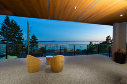 20-master-bedroom-viewing-terrace at 14723 Upper Roper Avenue, White Rock, South Surrey White Rock