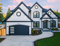 1-exterior at 15804 Tulip Drive, King George Corridor, South Surrey White Rock