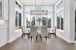 19-nook-with-designer-chandelier at 15804 Tulip Drive, King George Corridor, South Surrey White Rock
